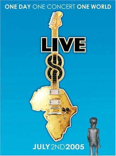 Various Artists - Live8 (DVD)
