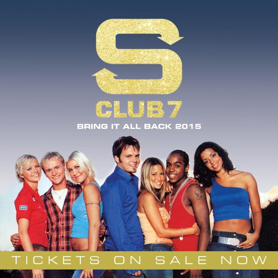 S Club 7 - Bring It All Back 2015 Tour